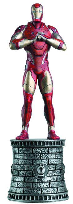 Eaglemoss Marvel Chess Iron Man Figurine