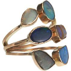 SANDRA DINI  Assorted Opal Ring
