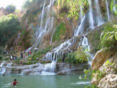 iran nature waterfall lorestan bisheh