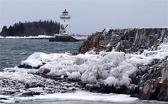 Grand Marais Lighthouse, Minnesota at Lighthousefriends.com