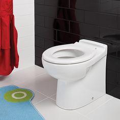 RAK Ceramics Junior Back to Wall Toilet with Soft Close Seat
