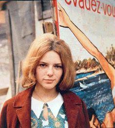 Yé-yé icon (along with Francoise Hardy and Sylvie Vartan) France Gall.