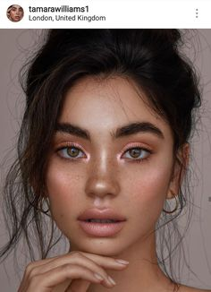 make up;make up for beginners;make up tutorial;make up for brown eyes;make up for hazel eyes;make up organization;make up ideas; Makeup Hacks, Makeup Inspo, Makeup Inspiration, Makeup Ideas, Makeup Trends, Boho Makeup, Bride Makeup, Teen Makeup, Makeup Routine