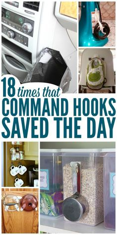 I love command hooks and these ideas are aboslutely brilliant and life-saving…
