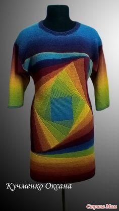 Ура! Наконец-то я его довязала!!! Очень долго не решалась приобрести пряжу Кауни. И после долгих раздумий, рысканья в интернете, все-таки купила. И влюбилась в нее!!! Knitting Patterns, Crochet Patterns, Intarsia Knitting, Knitting Projects, Blackwork, Knit Dress, Knit Crochet, Pullover, Dresses