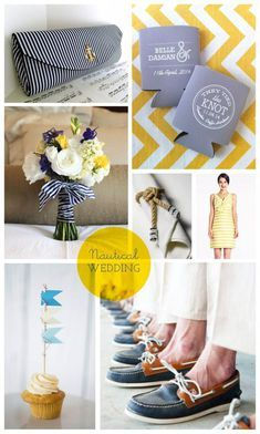 For the Mermaids - Nautical Wedding