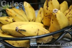 Foto: A banana, diminui o colesterol, previne o câncer intestinal e minimiza as câimbras. Banana, Conheça os Benefícios da Fruta Mais Consumida no Mundo!  Artigo aqui => http://www.gulosoesaudavel.com.br/2013/04/08/banana-saiba-mais-sobre-fruta-mais-consumido-mundo/