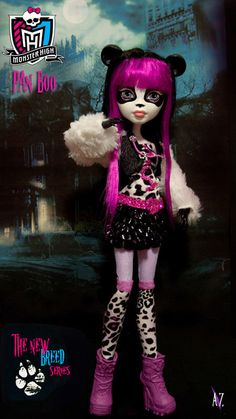 Monster High -Is this a new series of Monster High dolls?? or fan art?? Pan Boo ,new breed series