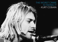 Photo of Kᴜʀᴛ Cᴏʙᴀɪɴ's Qᴜᴏᴛᴇs for fans of Kurt Cobain 37471526 Kurt Cobain Photos, Nirvana Kurt Cobain, Quotes By Famous People, Famous Quotes, Me Quotes, Rock Songs, Rock Music, Donald Cobain, Rock Artists