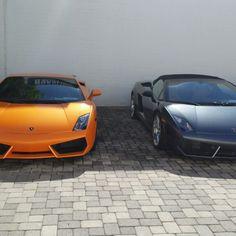 #lamborghini #gallardo I photographed in Costa Mesa, California. #expensive #exotic #cars   Orange or charcoal?