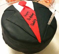 Cup O Cake: Tie and Suit birthday cake