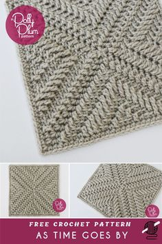 8de0010f372 As Time Goes By Crochet Square  FREE  This beautiful Afghan Crochet Square  is number