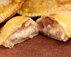 Chaussons au jambon et au fromage