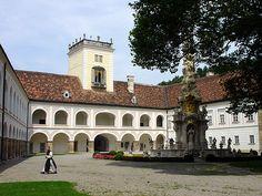 Zisterzienserabtei Stift Heiligenkreuz, Niederösterreich, Austria