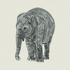 Africa Elephant 02 machine embroidery designs Free on Dec 17, 2014