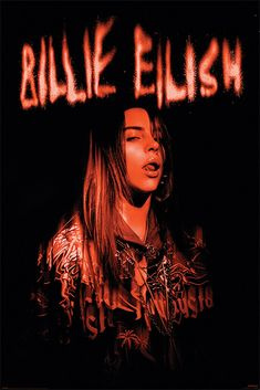 Billie Eilish, Room Posters, Poster Wall, Poster Prints, Music Posters, Tv Mode, Indie, Aesthetic Collage, Red Aesthetic