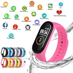 Smart Silicone Watchs Sport Wristbands For Women LED Screen Fitness Traker Bluetooth Waterproof Lady Watchs Sports Brand Fitness Activity Tracker, Fitness Activities, Weather Display, Mens Jogger Pants, Couple Watch, Find Your Phone, Fitness Watch, Sports Brands, Sneakers For Sale