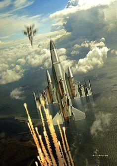 Air Combat Maneuvering by PetervanStigt on DeviantArt