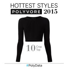 """PolyData: Crop Top, Top Fashion Trend 2015"" by polyvore ❤ liked on Polyvore featuring Cushnie Et Ochs and polydata"