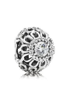 PANDORA Charm - floral brillance , spring 2014 . I'm one of the first to own this beauty ❤