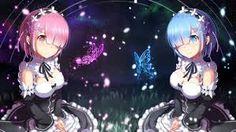 Anime Re:Zero Kara Hajimeru Isekai Seikatsu. (Ram y Rem) Mac Os Wallpaper, Re Zero Wallpaper, Wallpaper Backgrounds, Anime Wallpaper 1920x1080, Chibi Wallpaper, Girl Wallpaper, Screen Wallpaper, Ram Anime, Manga Anime