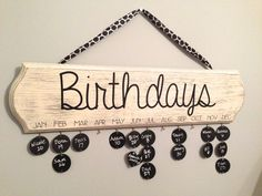Pinterest LIVE at Suite Pieces: Birthday Board event on 1/23/14 @ 7:30pm, Huntington, NY location... Everything you need to make your own custom birthday board, plus wine, sweets and a night out... join us! (Board shown here in French Linen & Old White Chalk Paint®)