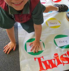 All in a Twist for Sight Words! - Love, Laughter and Learning in Prep!