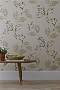 Buy Green Leaf Wallpaper from the Next UK online shop Cargo Pants Women, Trousers Women, Pants For Women, Conservatory Dining Room, Green Leaf Wallpaper, Come Dine With Me, Eat Your Heart Out, Colour Schemes, Next Uk