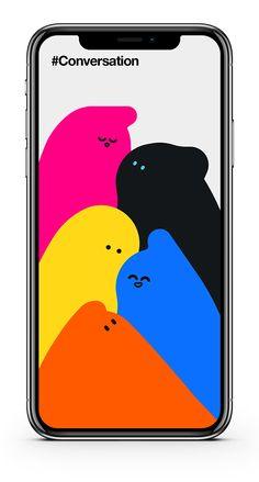 Join the Conversation on Behance App Design, Mobile Ui Design, Design Thinking, Packaging Design, Branding Design, Ui Inspiration, User Interface Design, Grafik Design, Motion Design