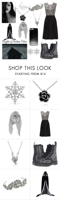 """""""descendants oc - Ghost of Christmas Future"""" by theclocker ❤ liked on Polyvore featuring Bling Jewelry, BP., Catherine Deane and Dr. Martens"""