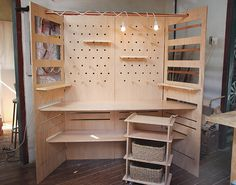 Portable craft show booth to use instead of a rented table #jewellerydisplay