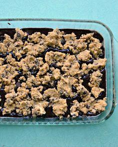 Cheater Brookies (Chocolate Chip Cookies + Brownies)