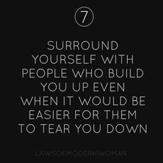 Build you up...