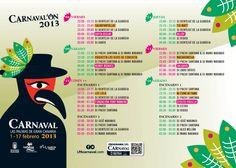 Programa del #Carnaval de #Laspalmas de #Grancanaria