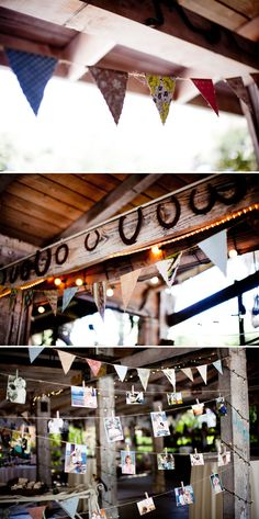bunting and pics