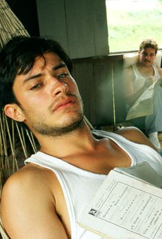 Gael garcia bernal in motorcycle diaries. .... Uhm... Yes please!