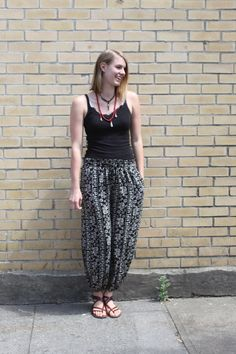 """You'll """"live"""" in these Harem Pants, This Is Us, Photoshoot, Portland Oregon, Blog, Shopping, Collection, Live, Style"""