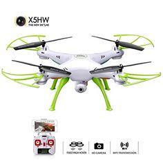 Syma X5HW FPV 2.4Ghz 4CH RC Headless Quadcopter Drone UFO... https://www.amazon.ca/dp/B01H6FU9Y8/ref=cm_sw_r_pi_dp_x_OXRgAbX0ZSZEY