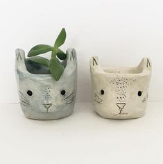 Cat Planter - Kristen Solecki
