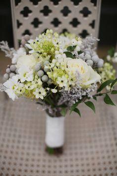 Irish Botanical Wedding Ideas #flowers #wedding (I love these flowers with little black centers, MJ)
