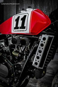 "Racing Cafè: Honda VF 750 ""MAXIMO #11"" by Lucky Custom"