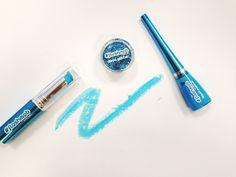 #azul #color #neon #fluor #flashmob #maquillaje #makeup