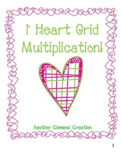 """""""This is a 54 page unit I used with my 3rd grade class when teaching multi-digit multiplication."""""""