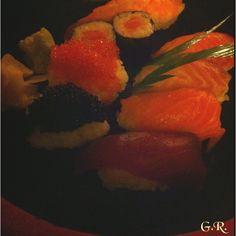 Sushi dinner... #sushi #pesce #cibo #dinner