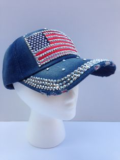 """Show your national pride this July 4th with """"Stars & Stripes!"""" From www.etsy.com/inhatuation"""