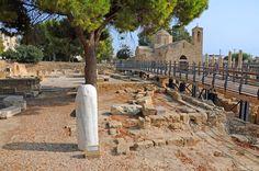 Cyprus Saint Paul's Pilar - Chrysopolitissa/Agia Kyriaki church, Pafos