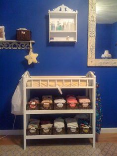 Cloth Diaper storage - baskets