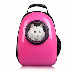 cattom cat Dog Cat Bubble Carrier Airline Approved Shoulder Backpack Mobile Bed for Travel Hiking => New and awesome cat product awaits you, Read it now  : Cat Cages, Carrier and Strollers