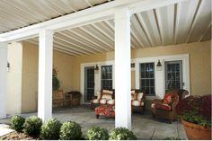 TimberTech - DrySpace Under Deck Drainage Patio Under Decks, Decks And Porches, Deck Patio, Outdoor Rooms, Outdoor Living, Outdoor Decor, Under Deck Drainage System, Deck Design Plans, Timbertech Decking