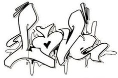 Related image Graffiti Alphabet Styles, Graffiti Lettering Alphabet, Tattoo Lettering Fonts, Love Coloring Pages, Printable Adult Coloring Pages, Graffiti Drawing, Street Art Graffiti, Graffiti Artists, Alfabeto Graffiti